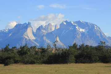 Day hiking in Torres del Paine National Park
